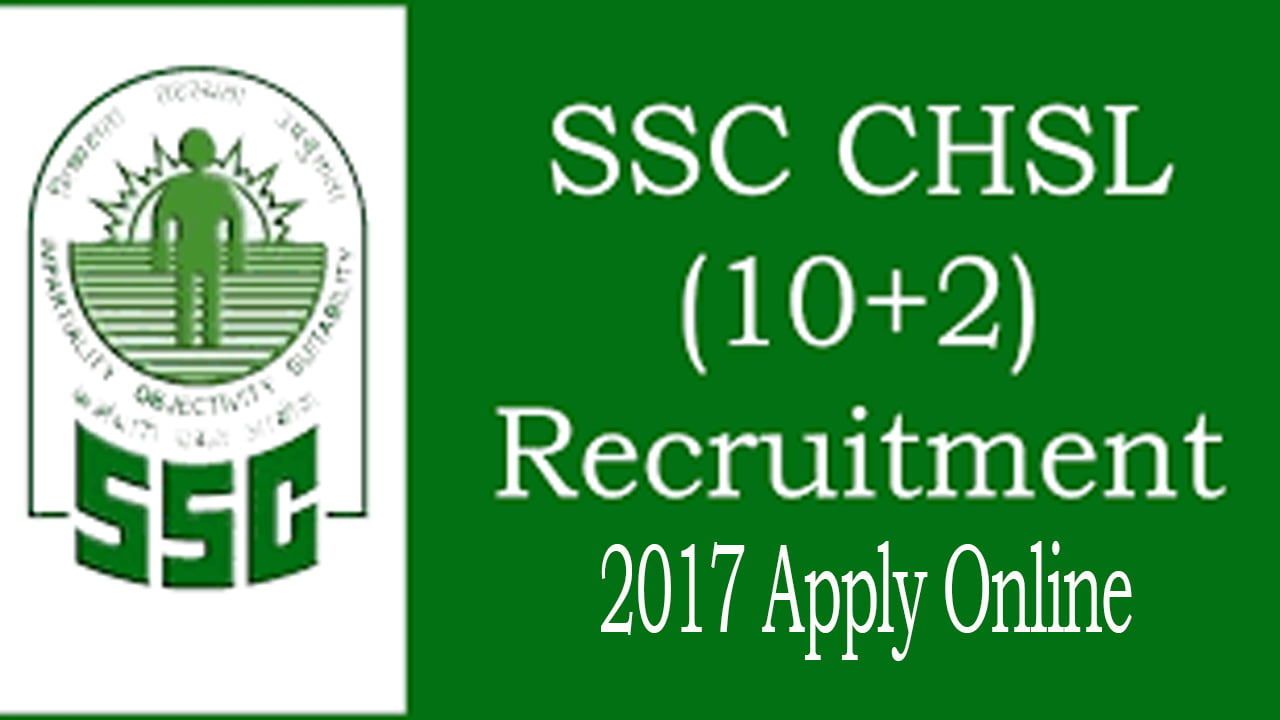 SSC CHSL Online Application Form