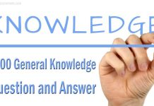 1000 General Knowledge Question