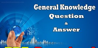General Knowledge Questin and Answer