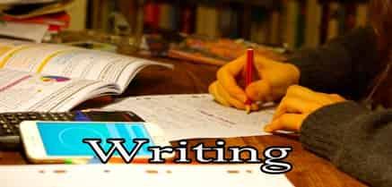 लिखकर याद करना
