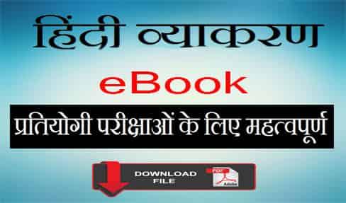 हिंदी व्याकरण eBook