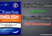 English Objective Questions eBook