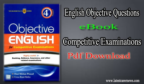English Objective Questions eBook for Competitive Examinations