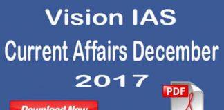 Vision IAS Current Affairs December