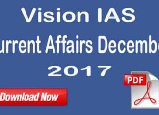 Vision IAS Current Affairs December