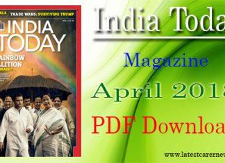 India Today Magazine April 2018
