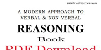 RS Agarwar Reasoning Book