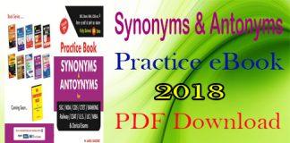 Synonyms Antonyms Practice eBook
