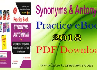 Synonyms Antonyms Practice eBook