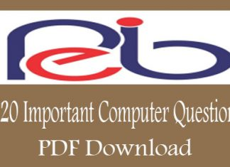120 Important Computer Questions