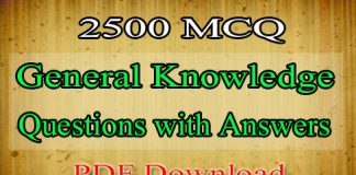 General Knowledge Questions
