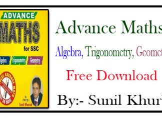 Advance Maths PDF