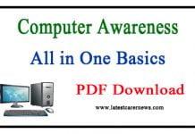 Computer Awareness PDF