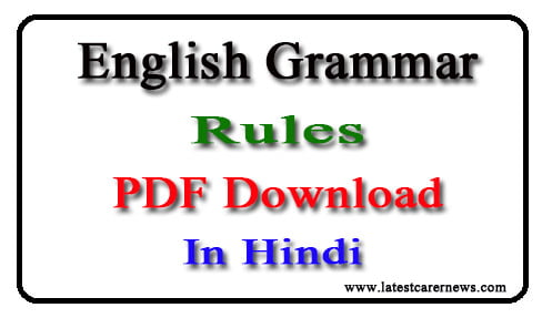 Hindi grammar basic in english pdf