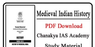 Medieval Indian History PDF