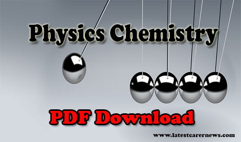 Physics Chemistry Formula Sheet PDF
