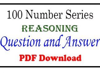 Number Series Reasoning