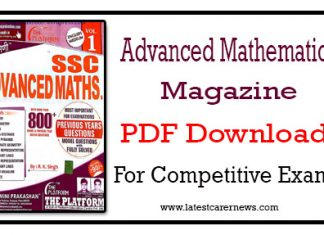 Advanced Mathematics PDF