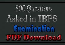 Bank Exam Questions and Answers