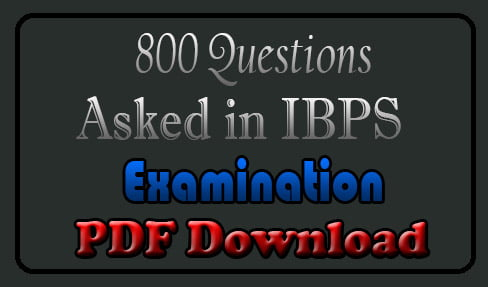 Bank Exam Questions Answers PDF