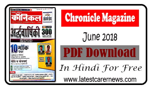Chronicle Magazine PDF June 2018