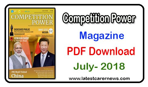 Competition Power Magazine July 2018