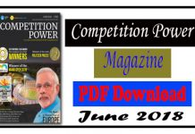 Competition Power Magazine June 2018