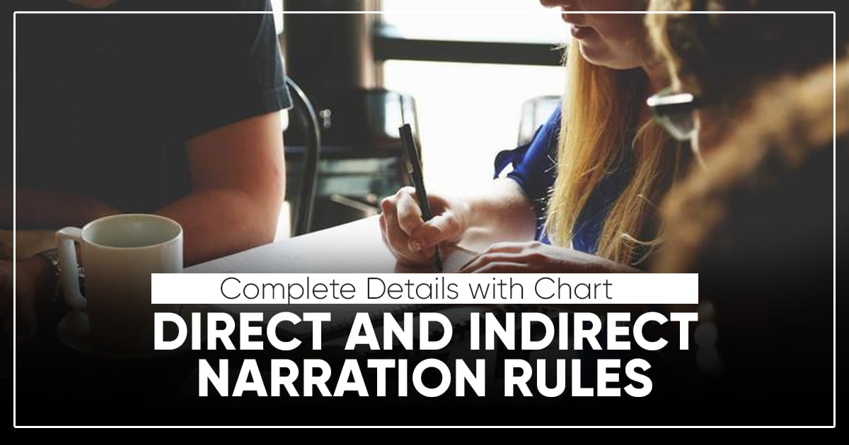 Direct and Indirect Narration