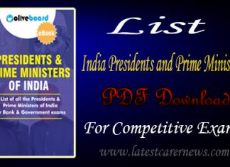 List of India Presidents and Prime Ministers