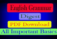 English Grammar Digest