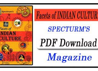 Facets Of Indian Culture Spectrum Pdf