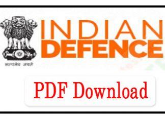 Indian Defence GK PDF