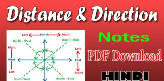 Distance Direction Notes
