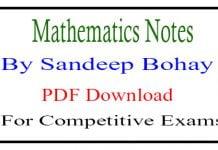 Mathematics Notes