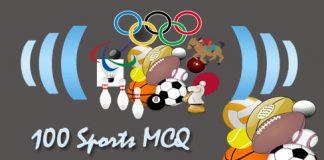 100 Sports MCQ
