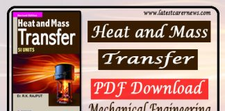 Heat and Mass Transfer PDF