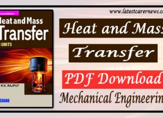 Heat and Mass Transfer PDF