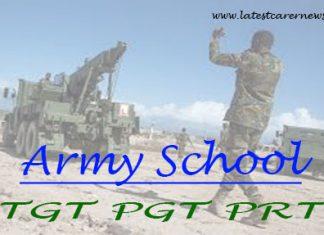 Army School TGT PGT PRT