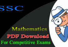SSC Maths Important Questions