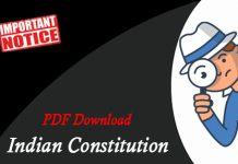भारतीय संविधान पर विदेशी प्रभाव