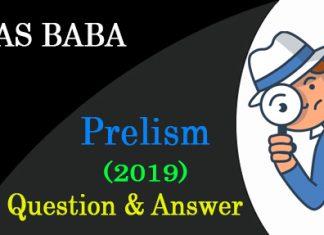 IAS BABA Prelims 2019