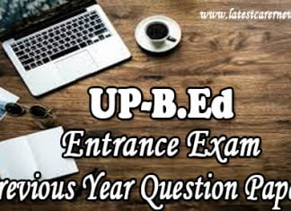 UP Bed Entrance Exam