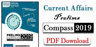 Current Affairs Prelims Compass 2019