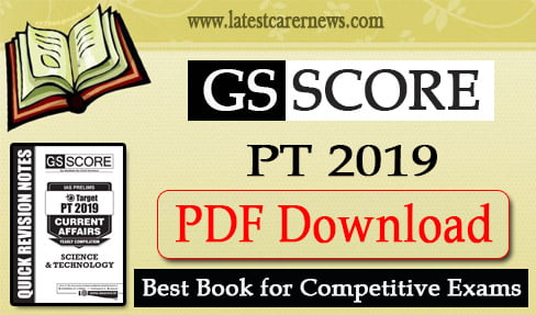 GS Score Target PT 2019