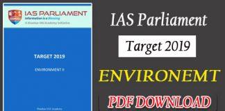 IAS Parliament Target 2019