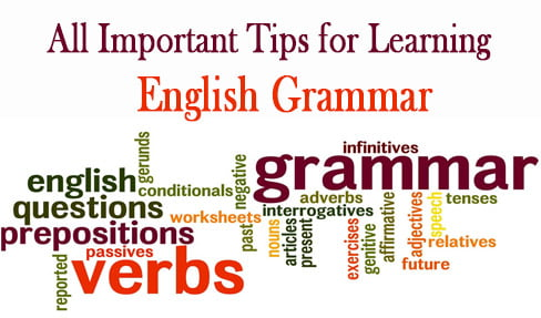 All Important Tips for Learning English Grammar PDF Free