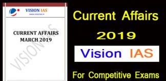 Vision IAS Current Affairs 2019