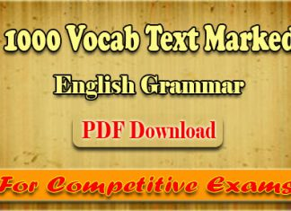 1000 Vocab Text Marked