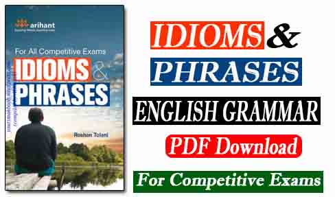 Arihant Idioms and Phrases