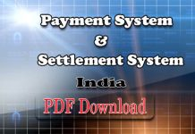 Payment and Settlement System in India